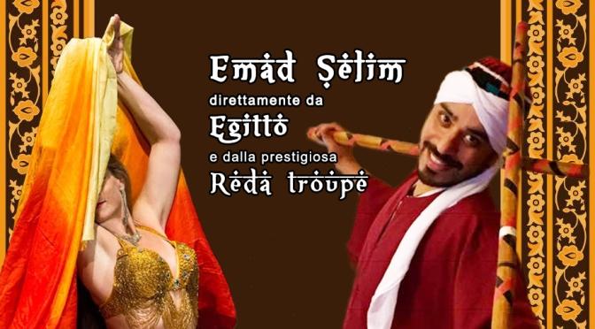 10 Febbraio 2019 – Workshop di folclore egiziano con Emad Selim